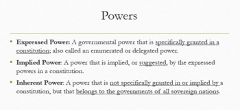 Chapter 4-American Government and Civics-Federalism Lesson Plans