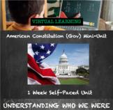 American Government and Constitution Virtual Mini-Unit