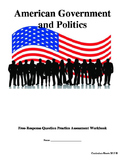 American Government and Politics Free-Response Question Te