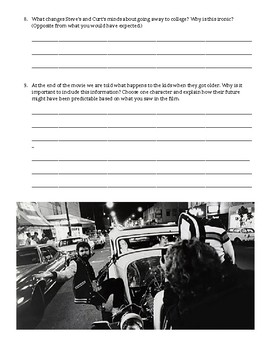 American Graffiti Film Questions