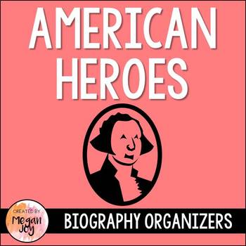 American Heroes Research Organizer Bundle