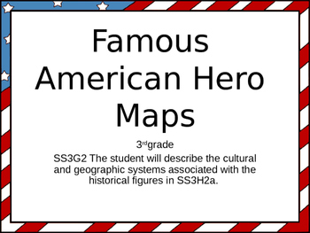 American Hero Maps