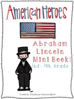 American Hero Mini Book: Abraham Lincoln