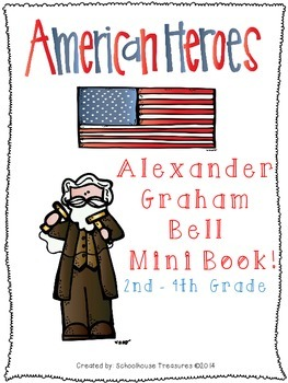 American Hero Mini Book: Alexander Graham Bell