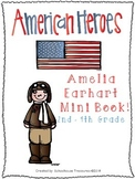 American Hero Mini-Book: Amelia Earhart
