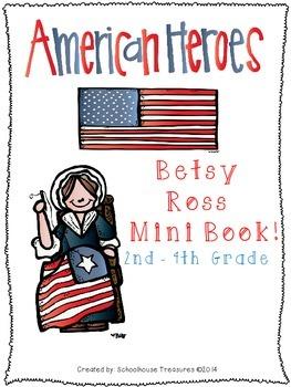 American Hero Mini Book: Betsy Ross