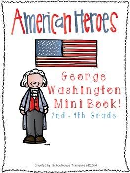 American Hero Mini Book: George Washington