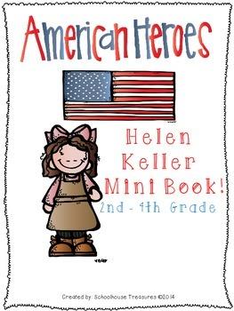 American Hero Mini Book: Helen Keller