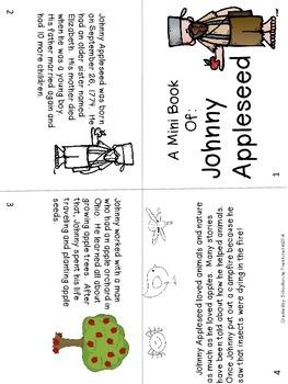 American Hero Mini Book: Johnny Appleseed