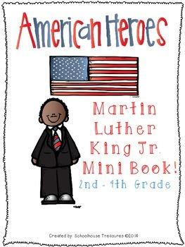 American Hero Mini Book: Martin Luther King