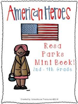 American Hero Mini Book: Rosa Parks