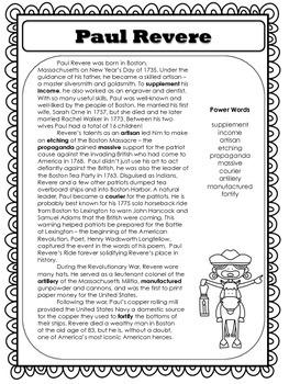 American Hero: Paul Revere