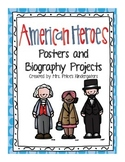 American Hero Posters and Biography Project