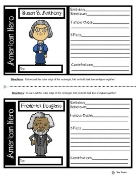 Susan B. Anthony & Frederick Douglass