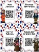 American Heroes: 16 Biography QR Codes for Daily Five List