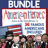 Famous Americans Biography Activities Bundle
