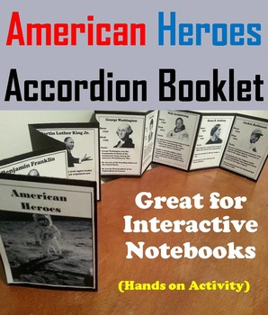 American Heroes Activity: George Washington, Rosa Parks, Abraham Lincoln, etc.