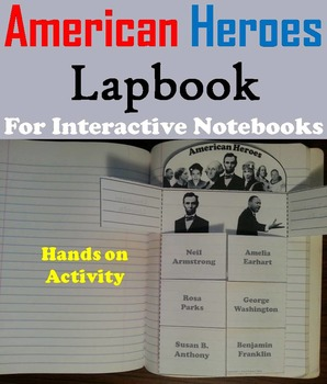 American Heroes Activity: George Washington, Rosa Parks, A