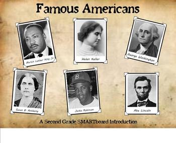 American Heroes - A Second Grade SMARTboard Introduction