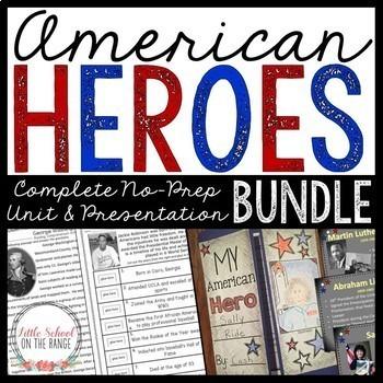 American Heroes (Biographies) BUNDLE