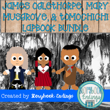 James Oglethorpe, Mary Musgrove, and Tomochichi Bundle
