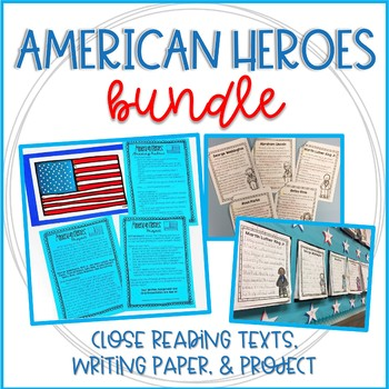 American Heroes Bundle: Presidents Day & Black History Month