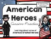 American Heroes Cursive Packet