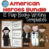 Informational Writing American Heroes Flap Book and Fast F