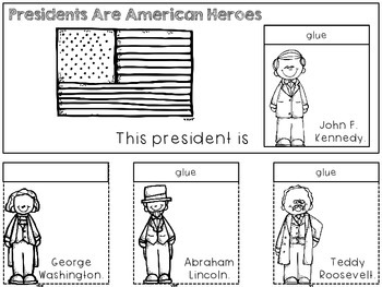 American Heroes Flip Books (Cut and Paste)