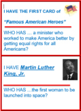 """American Heroes """"I Have, Who Has?"""" Game"""