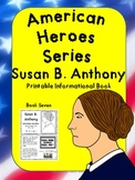 American Heroes Series-Book Seven-Susan B. Anthony Printable Activity Book