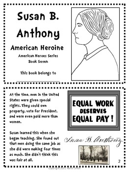 American Heroes Series-Book Seven-Susan B. Anthony ...