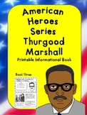 American Heroes Series-Book Three-Thurgood Marshall