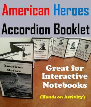 American Heroes Task Cards and Activities Bundle (Historical Figures)