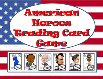 American Heroes Trading Card Game