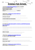 American Highschools Webquest