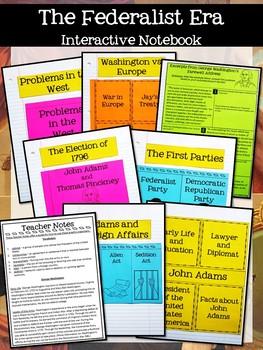 American History 1 Interactive Notebook Growing Bundle