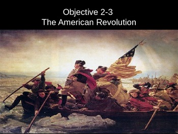 American History 1- The American Revolution