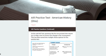 American History AIR Test (Ohio) Review - Online Practice Test