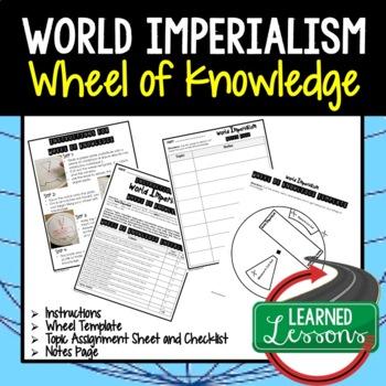 American History Activity BUNDLE, Wheel of Knowledge, Interactive Notebook
