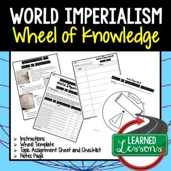 American History Activity BUNDLE, Wheel of Knowledge, Interactive Notebook