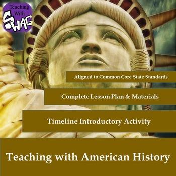 American History - American Literature - Timeline Activity