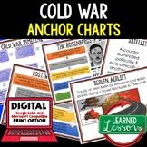 American History Anchor Charts: Cold War At Home and Abroad