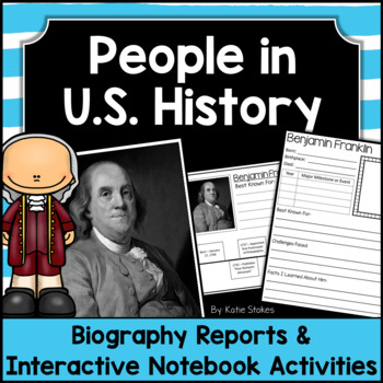 American History - Biography Research Project