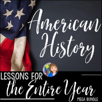 American History US History Curriculum SUPER Bundle Activities