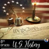 American History US History Curriculum SUPER Bundle Activities