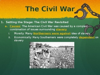 American History Bundle (PowerPoints and Guided Lecture Notes)