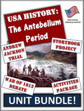 Western Expansion USA History Unit Bundle:  95+ Pages/Slid