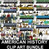 American History Clip Art Bundle