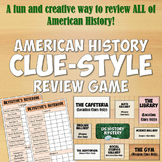 American History Clue-Style Review Game